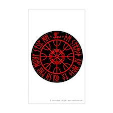 Aegishjalmur Sticker (Rectangle)