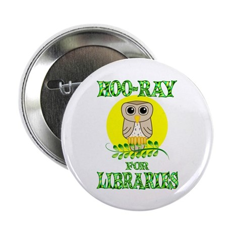 """Libraries 2.25"""" Button (10 pack)"""