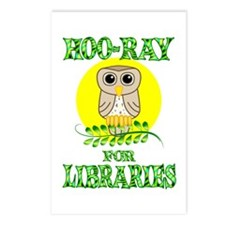 Libraries Postcards (Package of 8)