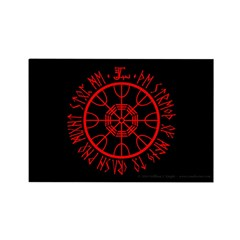 Aegishjalmur Rectangle Magnet (100 pack)