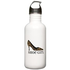 shoe girl Water Bottle