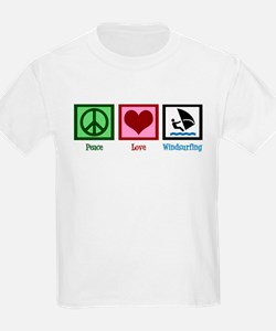 Peace Love Windsurfing T-Shirt