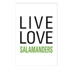 Live Love Salamanders Postcards (Package of 8)