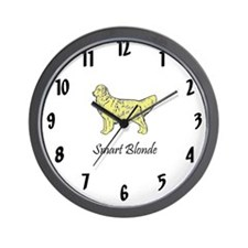 Smart Blonde Wall Clock