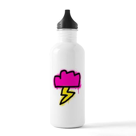 'Graffiti Lightning' Stainless Water Bottle 1.0L