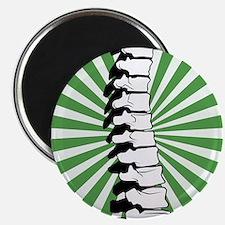 Green Burst Spine Magnet
