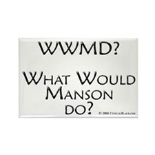 Manson Rectangle Magnet