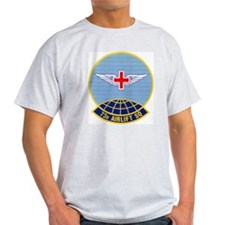 73d Airlift Squadron Ash Grey T-Shirt