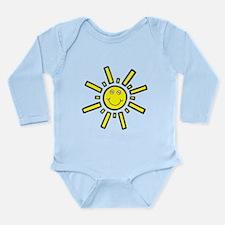 'Smiling Sun' Long Sleeve Infant Bodysuit