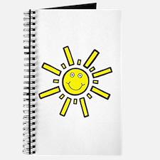'Smiling Sun' Journal