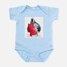 african grey Infant Bodysuit