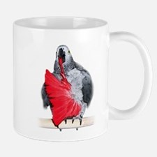 african grey Mug