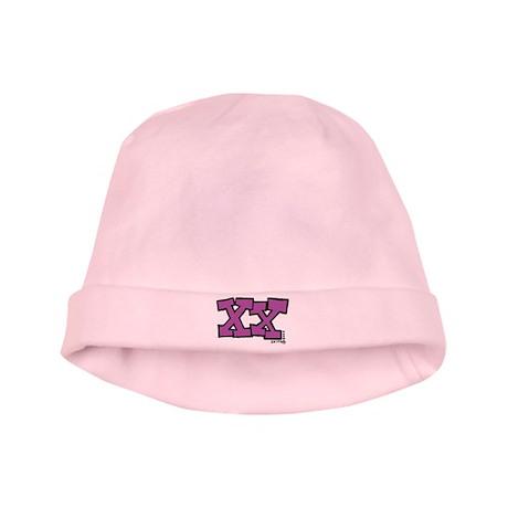 XX baby hat