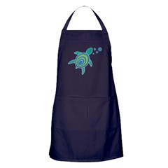Ocean Doctor Sea Turtle Apron (dark)