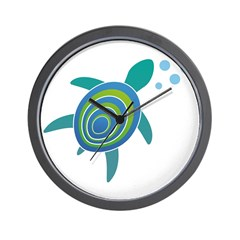 Ocean Doctor Sea Turtle Wall Clock
