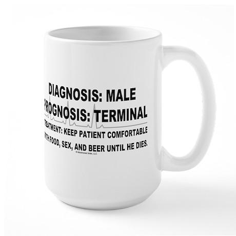 Diagnosis: Male Large Mug