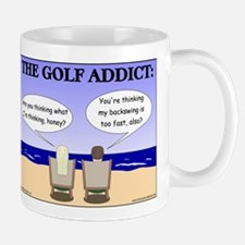 Golf Addict Small Mugs