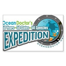 50-States Expedition Sticker (Rectangle 50 pk)
