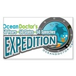 50-States Expedition Sticker (Rectangle)