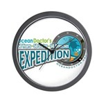 50-States Expedition Wall Clock