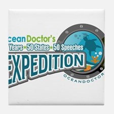 50-States Expedition Tile Coaster