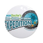 50-States Expedition Ornament (Round)