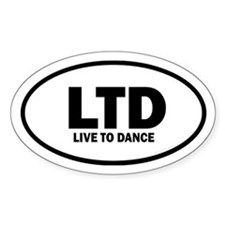 Live to Dance Euro Decal