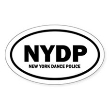 New York Dance Police Euro Decal