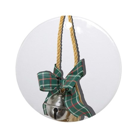 Country Doorbell Ornament (Round)