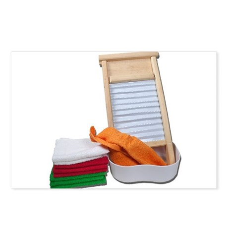 Doing Laundry Postcards (Package of 8)