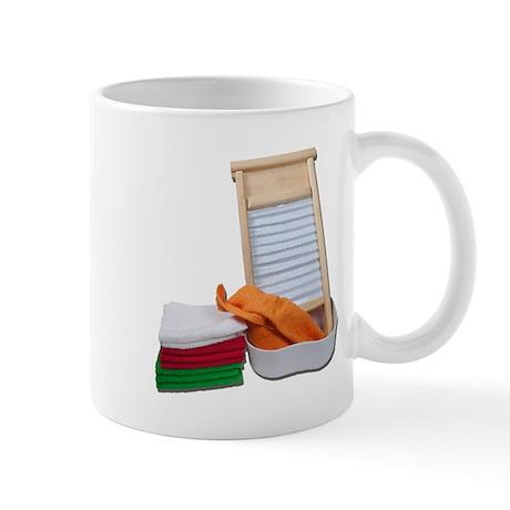 Doing Laundry Mug
