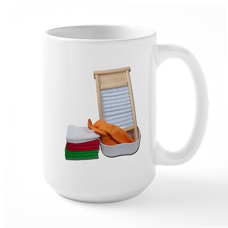 Doing Laundry Large Mug
