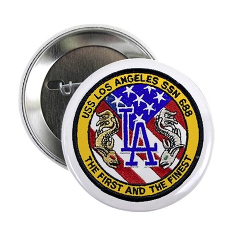 USS Los Angeles SSN 688 Button