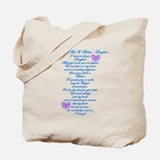 Daughter Expecting Baby Tote Bag