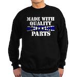 Quality Scottish Parts Sweatshirt (dark)