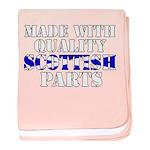 Quality Scottish Parts baby blanket