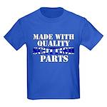 Quality Scottish Parts Kids Dark T-Shirt