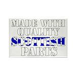 Quality Scottish Parts Rectangle Magnet