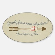 OUAT Ready For A New Adventure Bumper Stickers