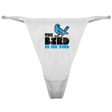 The Bird is the Word Classic Thong