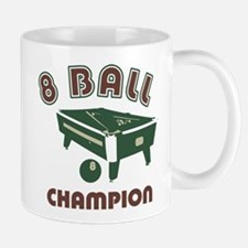 8 Ball Champion Small Small Mug