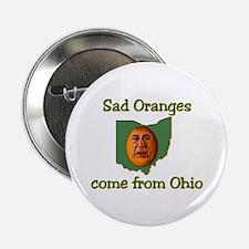 """Sad Oranges 2.25"""" Button"""