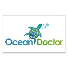 Ocean Doctor Logo Decal