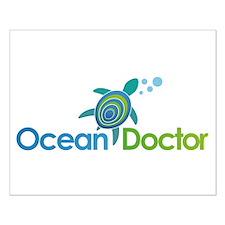 Ocean Doctor Logo Small Poster