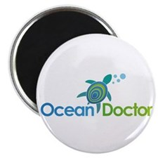 """Ocean Doctor Logo 2.25"""" Magnet (100 pack)"""