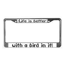 """Bird"" License Plate Frame"