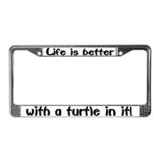 """Turtle"" License Plate Frame"