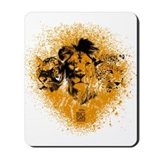 Big Cats Portraits Mousepad