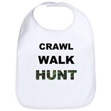 Crawl Walk Hunt Bib