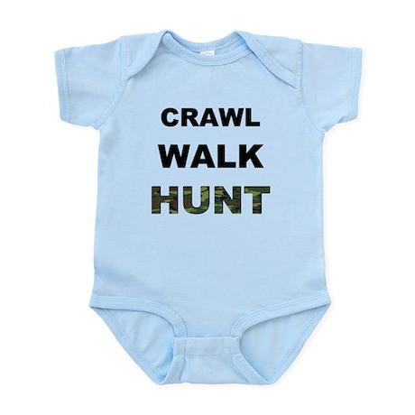 Crawl Walk Hunt Infant Bodysuit